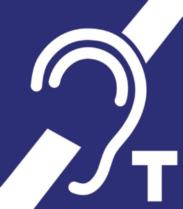 International sign for Hearing Loop Installation