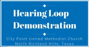 Hearing Loop Demonstration Video