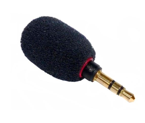Microphone for Portable RF Transmitter